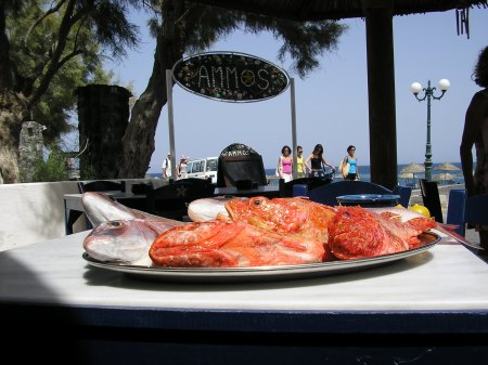 Ammos @ Perivolos Beach